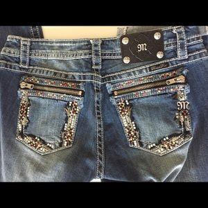 Miss Me Capri Jeans Size 30